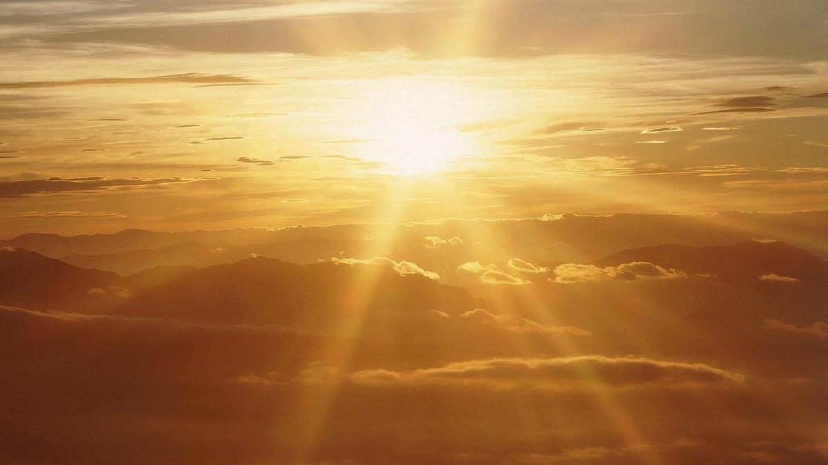How I see the sun